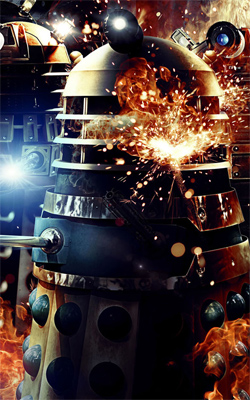 Asylum of the Daleks Render