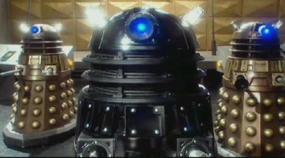 Black and Bronze Daleks