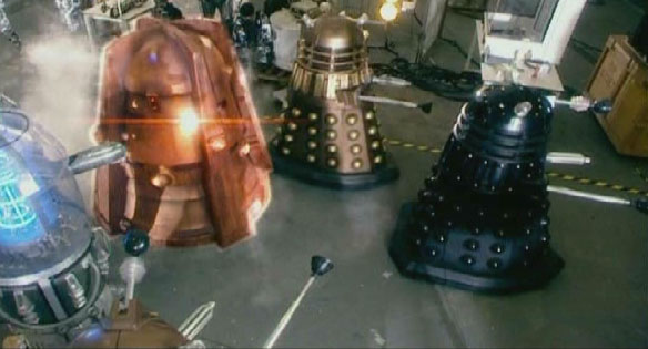 Daleks protect Genesis Ark in Doomsday