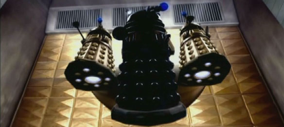 Black Dalek Void Sphere Army of Ghosts