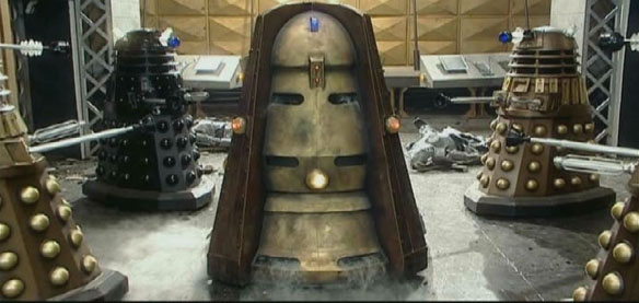 Black Dalek New Series Genesis Ark