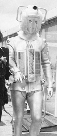 Cyberman Tom Baker
