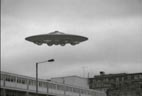 Dalek saucer over London