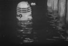 Dalek emerges from Thames