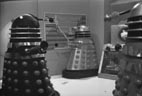 Black Dalek in control room