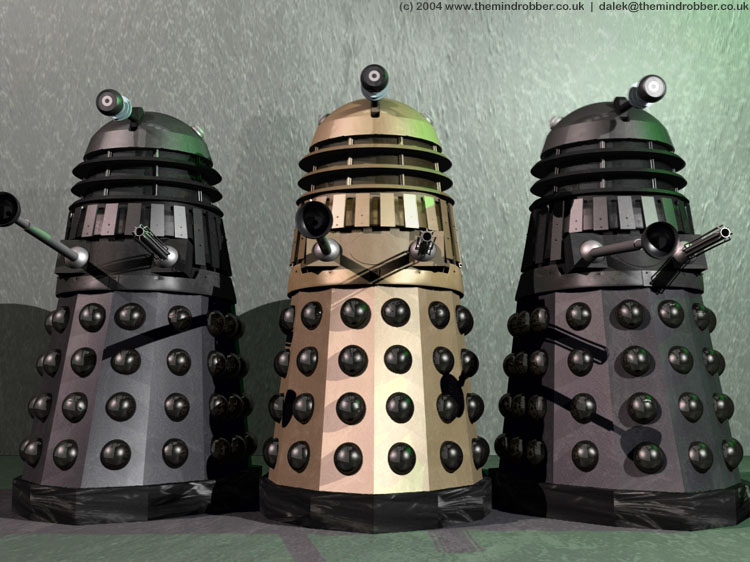 Doctor Who Artwork Facts Reviews And Guiedes 3d Dalek