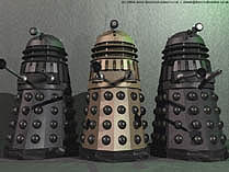 Day of the Daleks 3D model