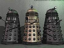 Day of the Daleks 3D model