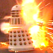 Remembrance of the Daleks Explosion