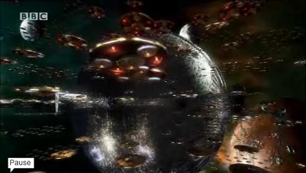 Dalek Fleet Saucers