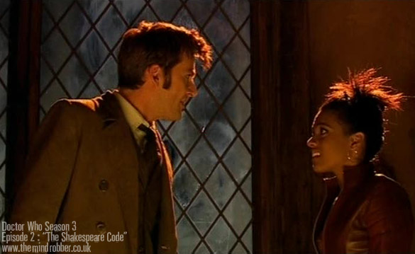 The Doctor and Martha - The Shakespeare Code
