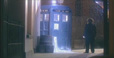 The TARDIS leaves victorian London