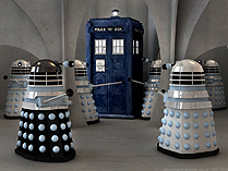 Curse of the Daleks captures the TARDIS on Skaro