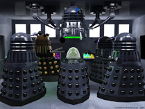 Planet of the Daleks Dalek assembly