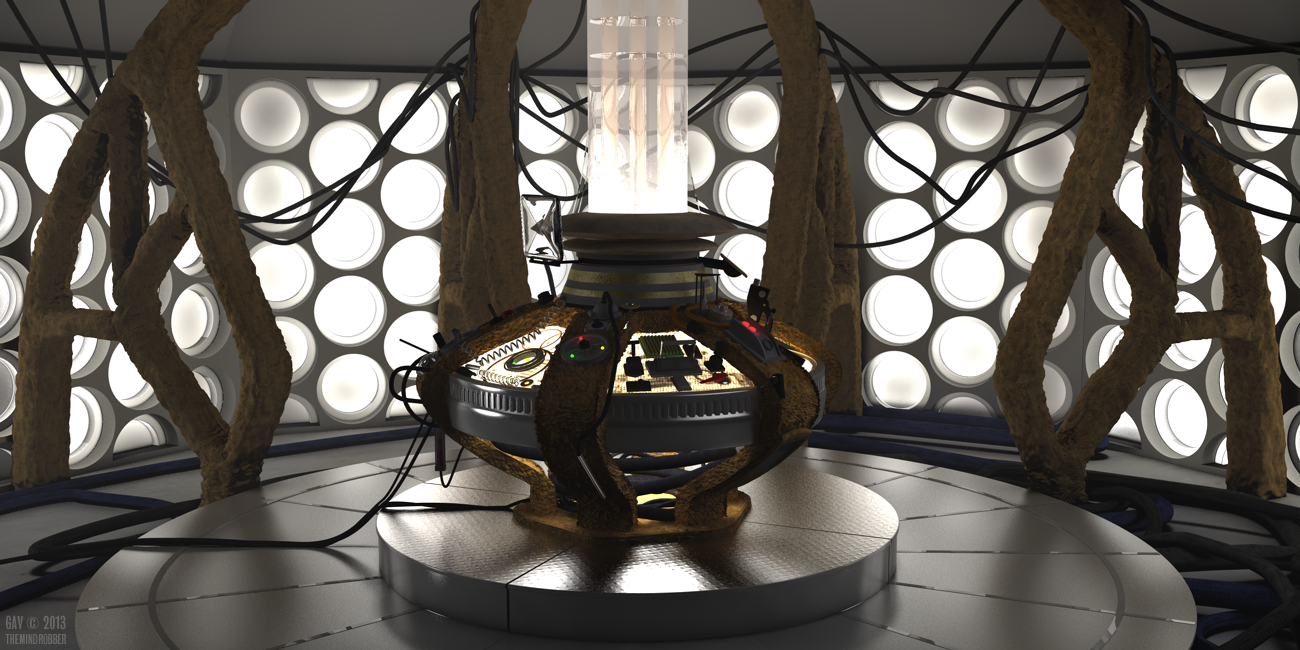 The War Doctor's TARDIS With Roundels!