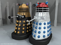 Planet of the Daleks Supreme - Red Top Film Dalek