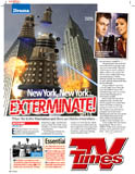 Daleks in Manhattan in TV Times