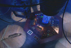 TARDIS console from above