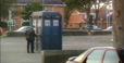 The TARDIS in a pub carpark