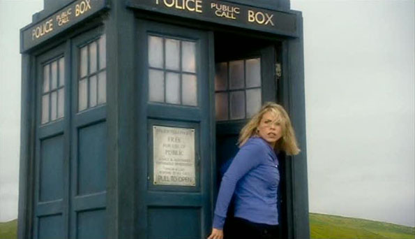 Rose Leaves TARDIS