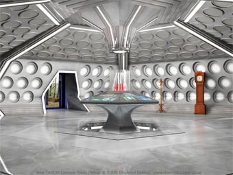 New TARDIS Console Room Design
