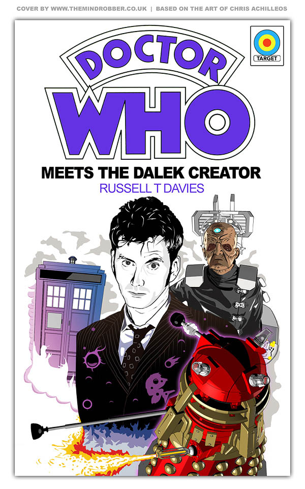 Book Covering Contact Target : Doctor who artwork facts reviews and guiedes d dalek