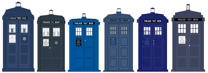TARDIS Prop Comparisons to a real Police Box