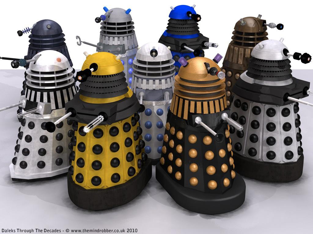Doctor Who Many-dalek-variations