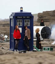 Southerndown beach Doctor Who