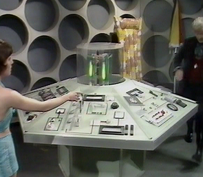 Death to the Daleks Console